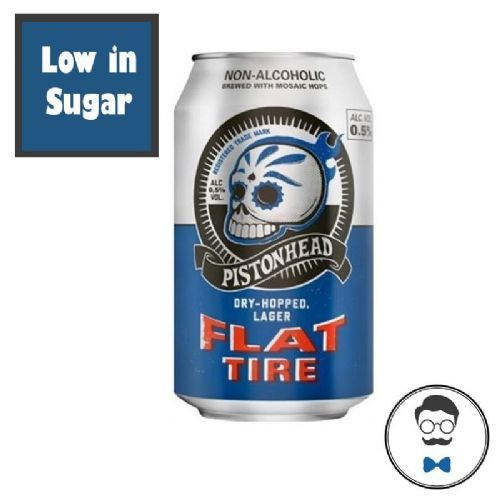 Pistonhead Flat Tire Alcohol Free Beer (<0.5% ABV)